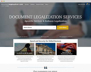 Preview image of DocumentLegalization.com